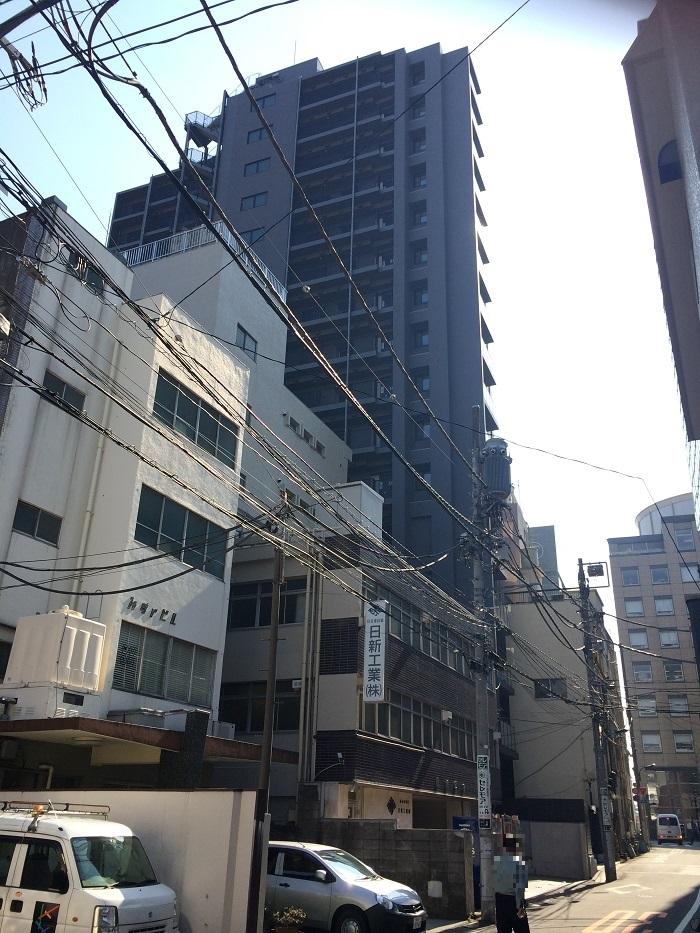 ミッドタウンコンド四谷_裏通り2_2015-02