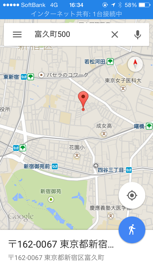 富久クロス_地図