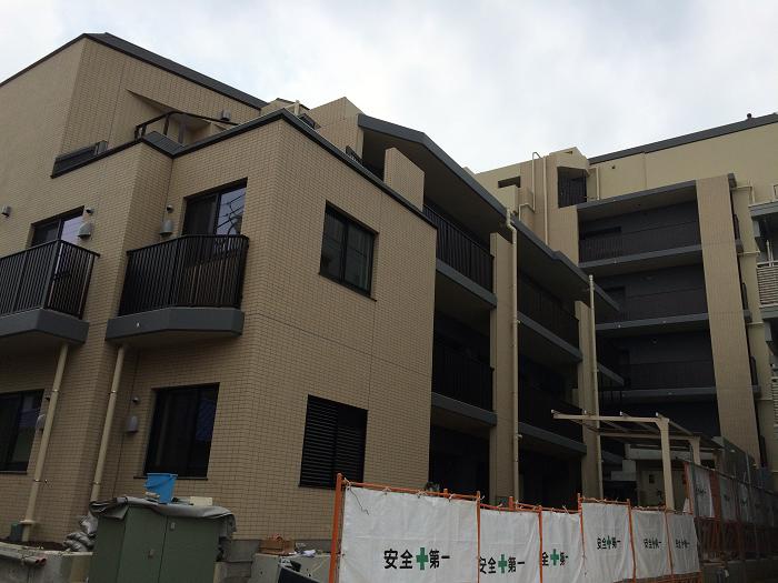 パークホームズ四谷三丁目_工事進捗状況の写真_2015年7月下旬現在_2
