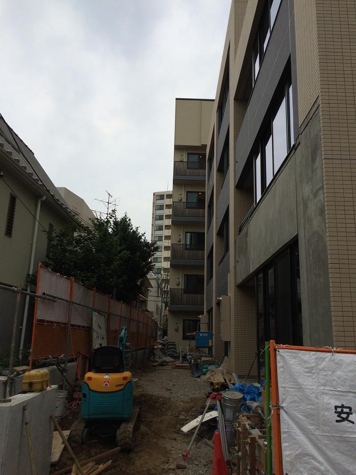 パークホームズ四谷三丁目_工事進捗状況の写真_2015年7月下旬現在_3