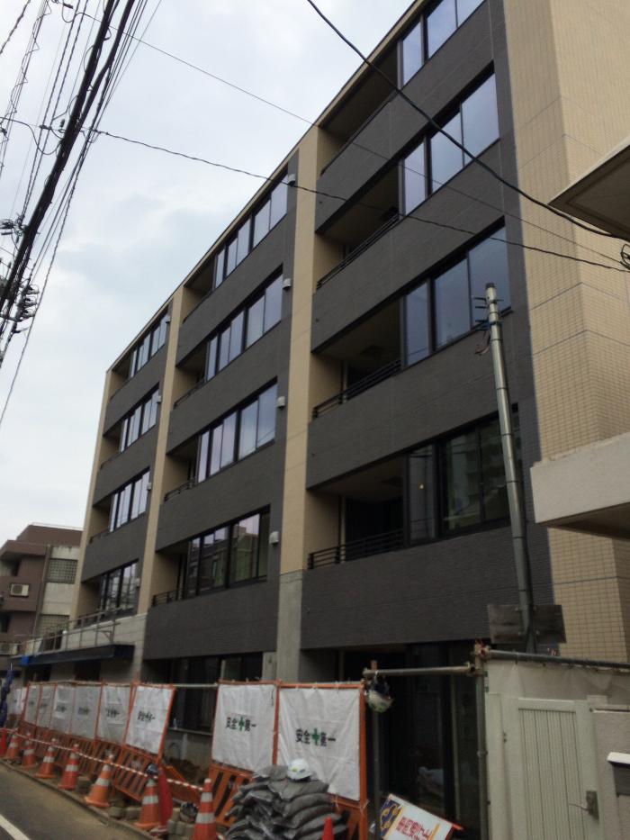 パークホームズ四谷三丁目_工事進捗状況の写真_2015年7月下旬現在_4