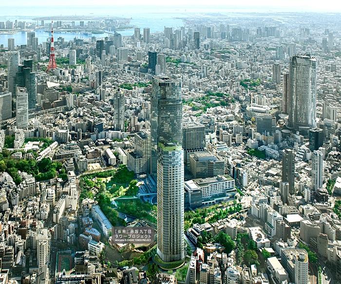 赤坂9丁目タワープロジェクト外観