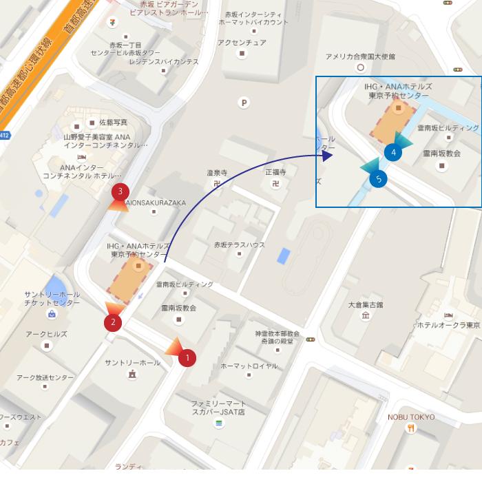 パークコート赤坂桜坂_map