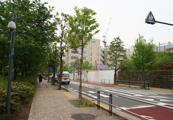 六本木4丁目計画(三井)現地