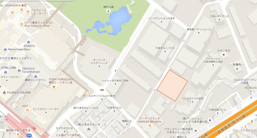 六本木4丁目計画_HKRJ Roppongi特定目的会社