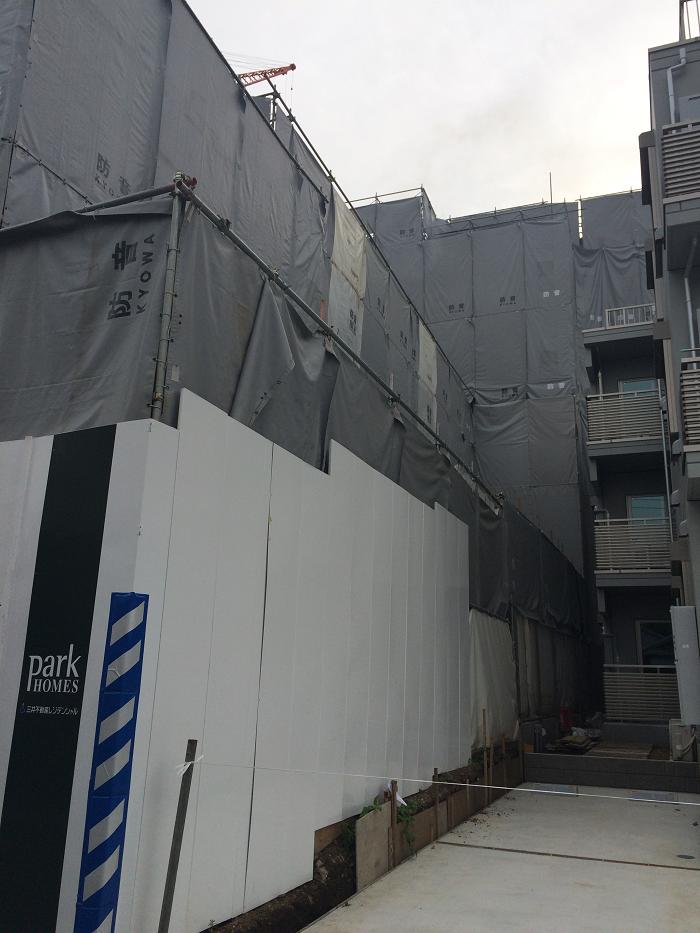 パークホームズ四谷三丁目_工事進捗_2015.5月中旬_2