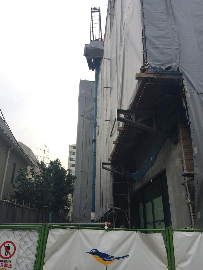 パークホームズ四谷三丁目_工事進捗_2015.5月中旬_3