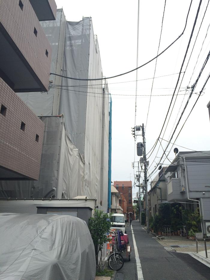 パークホームズ四谷三丁目_工事進捗_2015.5月中旬_5