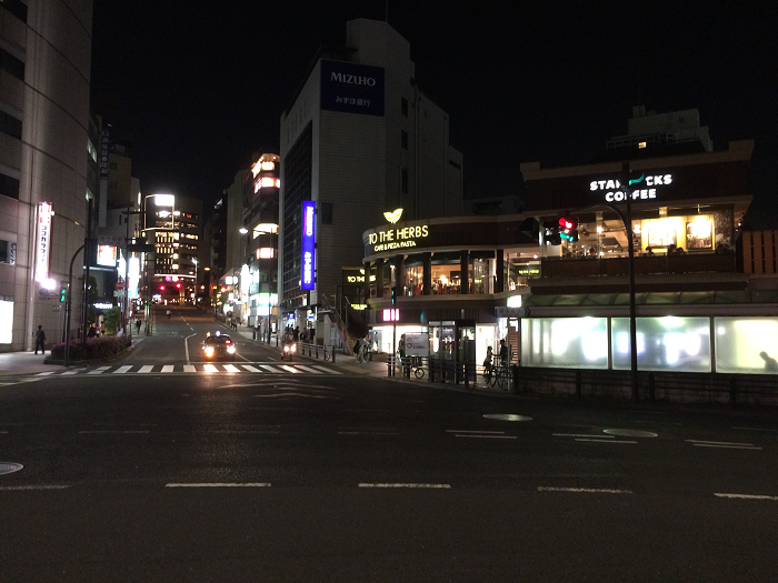 市ヶ谷_日本テレビ通り