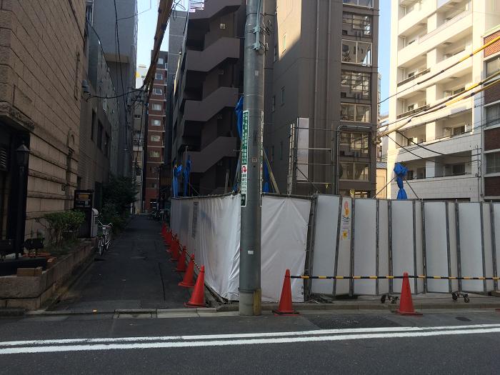 オープンレジデンシア日本橋三越前_写真_住所_5_表側から_北側を見る