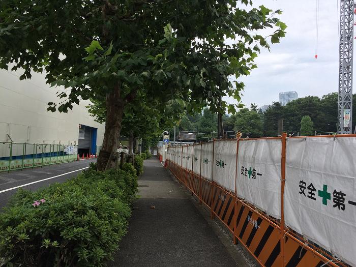 ガーデンヒルズ四ツ谷 迎賓の森_赤坂御所そばの現地周辺の様子写真_5_道路側