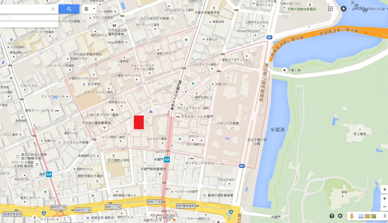 ザコノエ一番町(the conoe一番町)_1_住所・地図