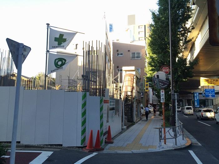 ピアース初台センティア_現地写真イメージ_7_新宿方面を眺める