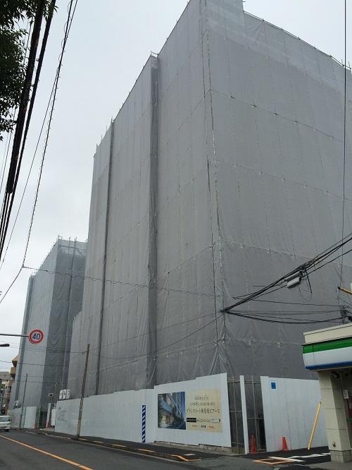 グランスイート神楽坂ピアース_10_東側道路