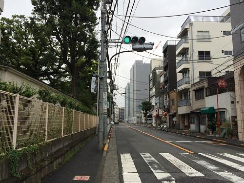 グランスイート神楽坂ピアース_8_東側道路