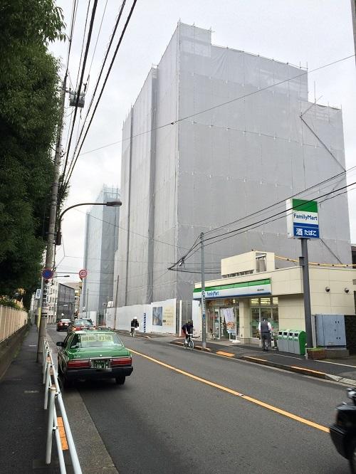 グランスイート神楽坂ピアース_9_東側道路