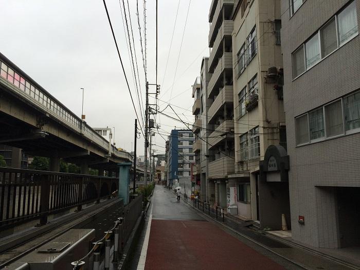 ブリリア文京江戸川橋_写真画像イメージ_2_正面を離れた通りから