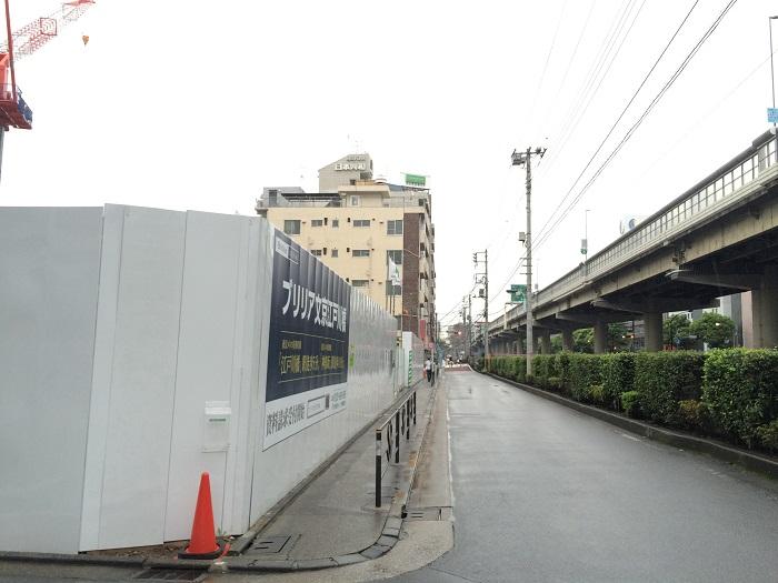 ブリリア文京江戸川橋_写真画像イメージ_6_正面の通り西から