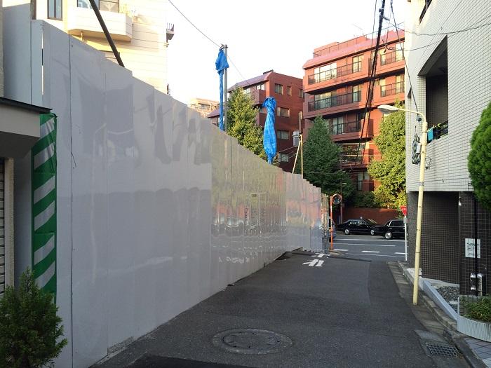 東急不動産_渋谷区東4丁目計画_写真画像イメージ_2_現地南道路