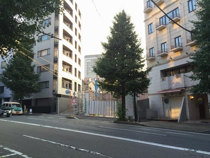 東急不動産_渋谷区東4丁目計画_写真画像イメージ_6_現地東道路