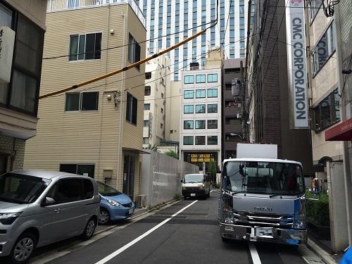 中央区銀座三丁目計画_三井不動産_2_北西の通り