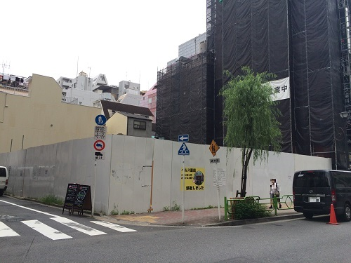 中央区銀座三丁目計画_三井不動産_3_南西から撮影