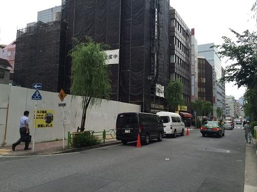 中央区銀座三丁目計画_三井不動産_4_南側の通り