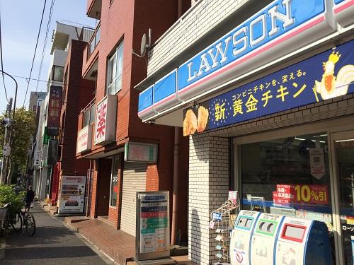 インプレスト早稲田_3_近隣ローソン