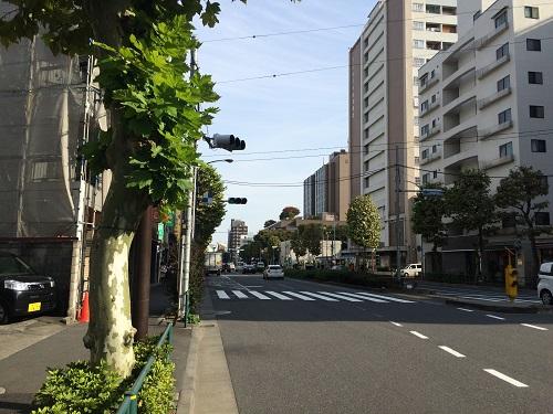 インプレスト早稲田_9_道路2