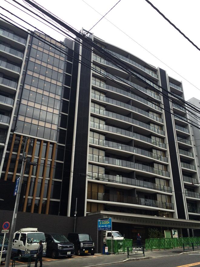 シティハウス恵比寿伊達坂の2015年12月の様子。住友不動産の恵比寿高級マンション