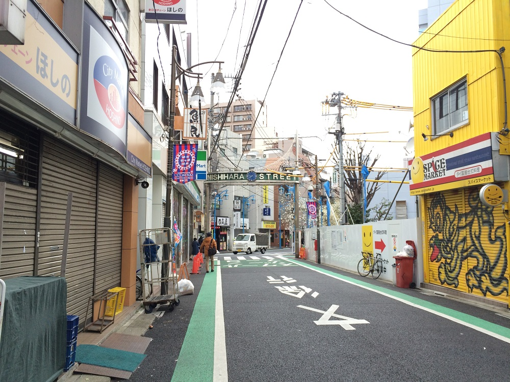 パークリュクス渋谷西原_西原商店街
