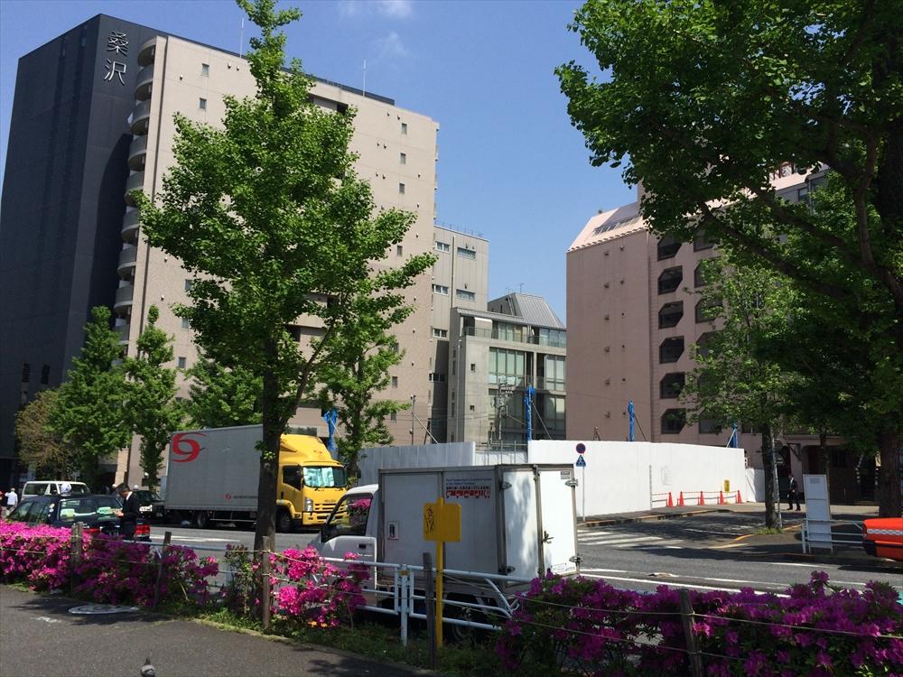 渋谷区神南一丁目計画_住友不動産_北東から現地を眺める