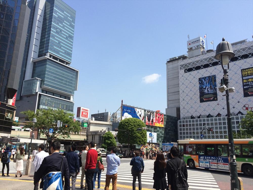 渋谷区神南一丁目計画_住友不動産_渋谷スクランブル交差点