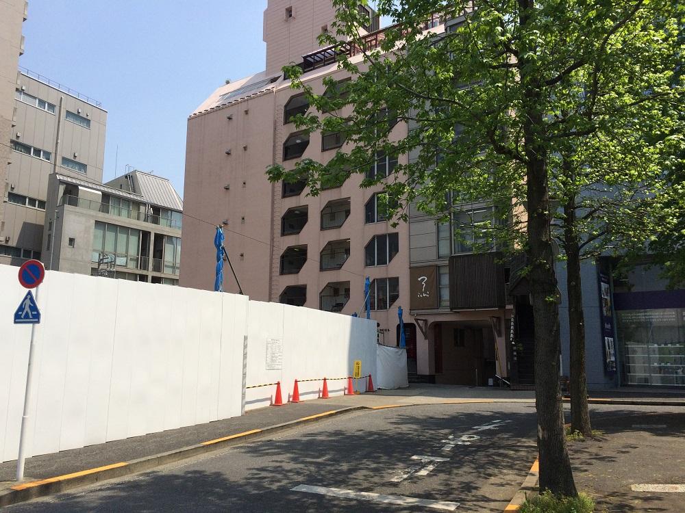 渋谷区神南一丁目計画_住友不動産_東側道路