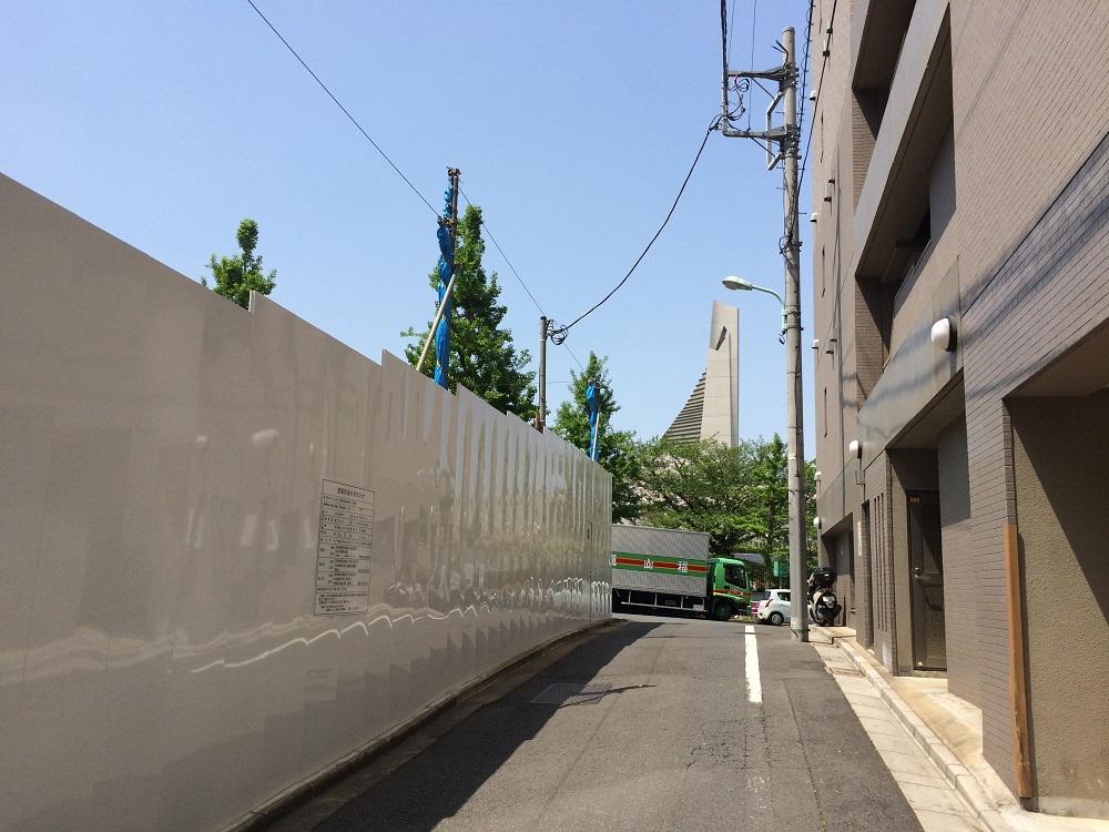 渋谷区神南一丁目計画_住友不動産_西側